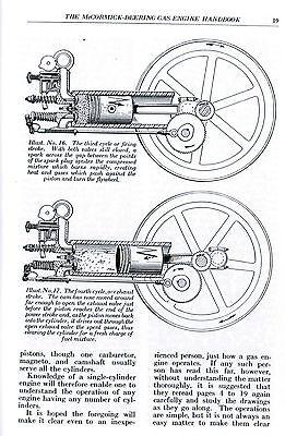 INTERNATIONAL MCCORMICK DEERING Type M Gas Engine Motor
