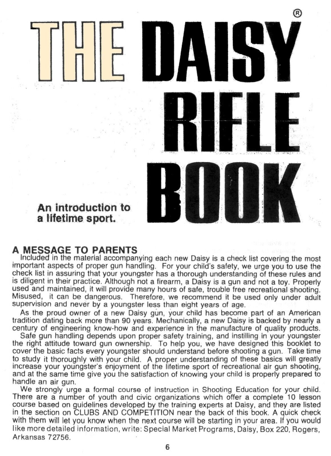 DAISY 1894 SPITTIN' Image™ PDF Re-drawn Service Manual