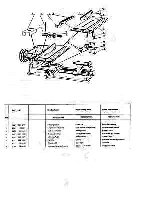 UNIMAT SL LATHE Manual in Adobe PDF Format with Linked