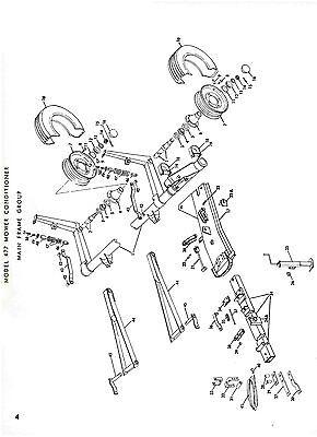 NEW HOLLAND 477 Haybine Mower Conditioner Parts Catalog