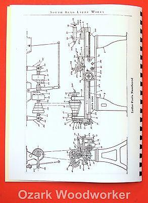 South Bend 9 Lathe Parts Diagram