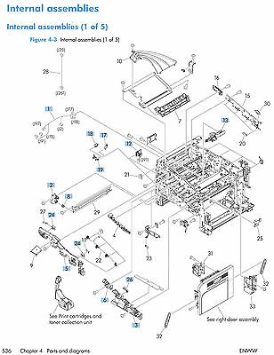 HP LASERJET ENTERPRISE 500 (M551) Service Manual (Contains