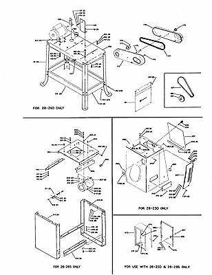 DELTA 14& Band Saw Wood Cutting Operating & Parts List