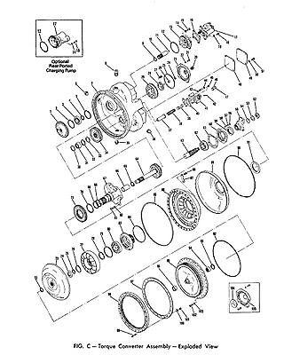 CLARK TORQUE CONVERTER Gasket & Seal for series C5000