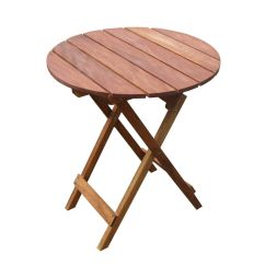 Foldable Table And Chairs Garden Jobek Chair Stand New Oak Timber Outdoor Sets For