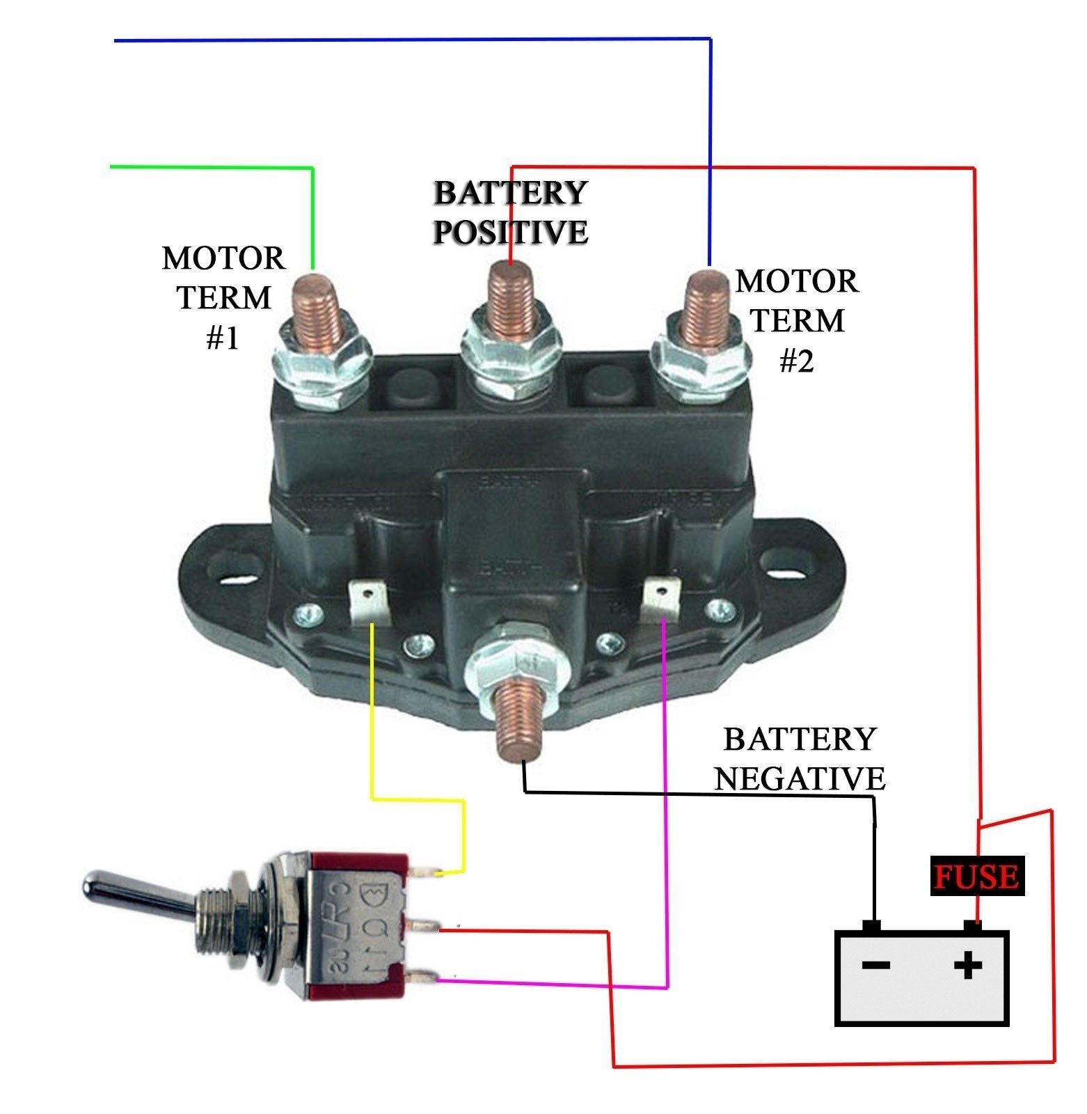 winch relay wiring diagram wiring schematic diagram