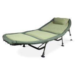 Fishing Bed Chair Used Flip Sleeper Abode Carp Camping Bedchair Blanket