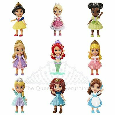 princesse disney mini bebe poupee ensembles belle cendrillon ariel tiana