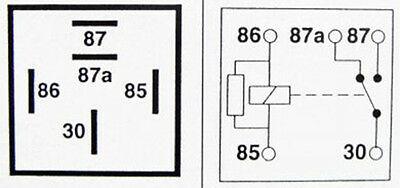 12v Changeover Relay Wiring Diagram Auto Electrical Wiring Diagram