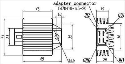 Universal 4 Wire Rectifier Wiring Diagram, Universal, Free