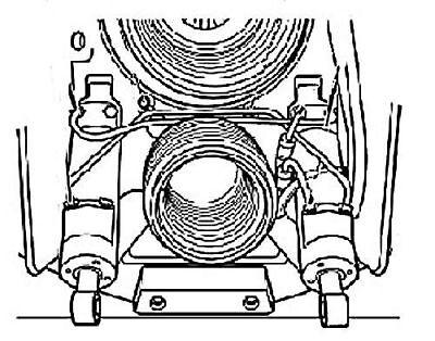 VOLVO PENTA TRIM Cylinder Ram Rebuild kit 290 3860881