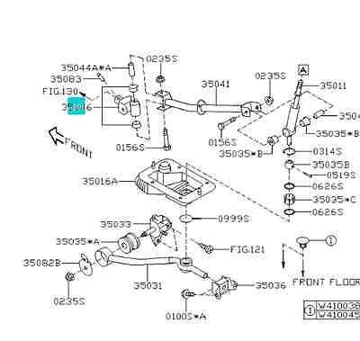 GENUINE SUBARU IMPREZA Legacy Forester WRX Shifter Bushing
