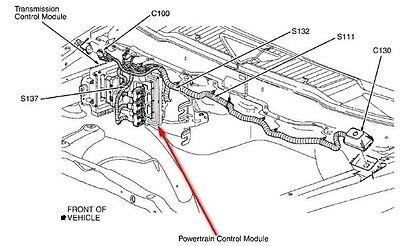1998 JEEP GRAND Cherokee 4.0L Engine Control Module Engine