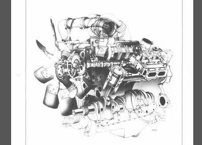 DETROIT DIESEL SERIES V-71 Service Manual 8V-71TA 6V-71TA