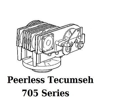 GASKET SET PARTS kit for Hydrostat Transmission 705-002