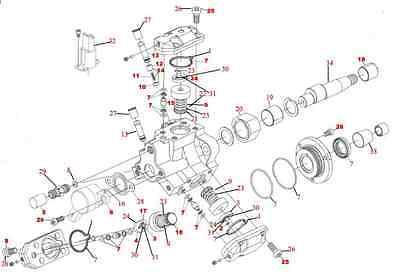 MERCEDES ML 270 CDI Diesel Bosch CP1 High Pressure Fuel