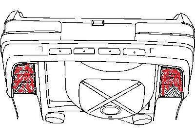 MERCEDES W123 , C123 (Coupe) Reparaturblech Kofferboden