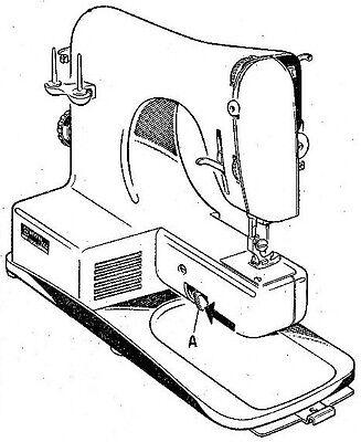 NECCHI LYDIA 3 Model 542 & 544 Sewing Machine Instruction