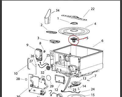 524185P GENUINE Fisher & Paykel Dishdrawer Dishwasher