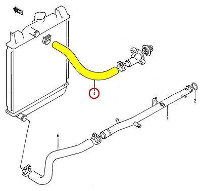 upper radiator hose geo
