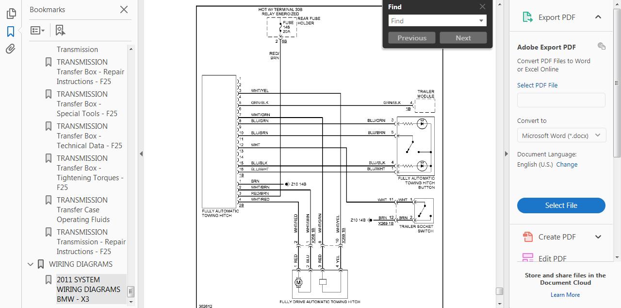 Wiring Diagram Bmw X3 F25