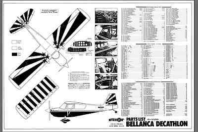 1/4 SCALE BELLANCA Decathlon Giant Scale RC Model AIrplane