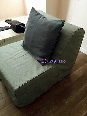 lycksele chair bed outdoor camping chairs custom made cover fits ikea replace sofa 1 of 6 50 fabrics