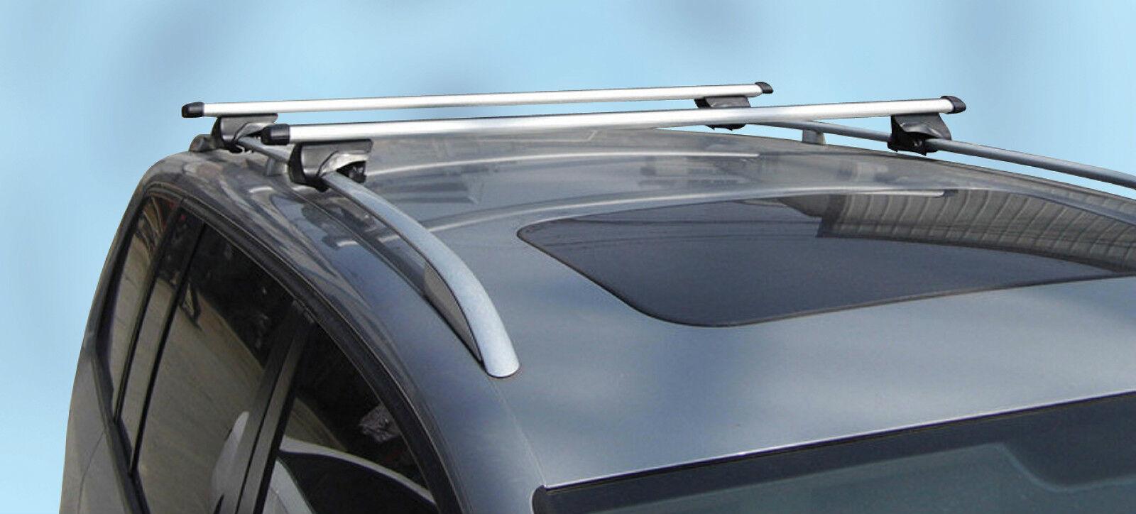 MPE Lockable Aluminium Car Roof Rack Rail Bars for