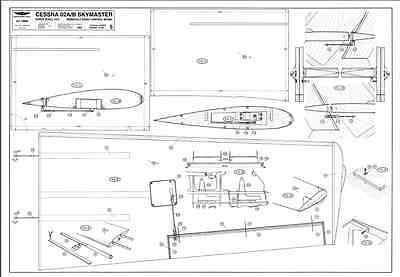 CESSNA Skymaster Twin. 6 pages Giant Scale RC AIrplane PDF