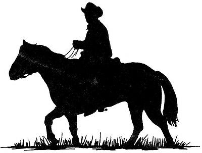 mounted rubber stamps western