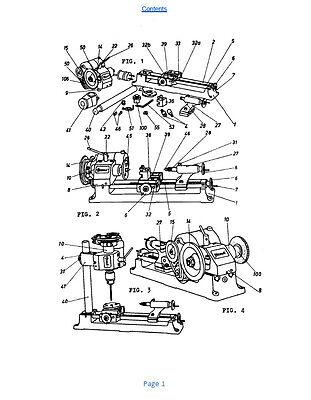 UNIMAT UNIVERSAL MACHINE Tool DB 200 Manual and