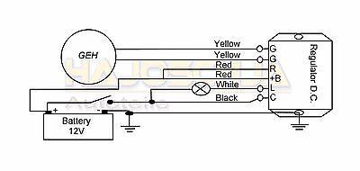 ORIGINAL DUCATI LIMA Regler Lichtmaschine Gleichrichter