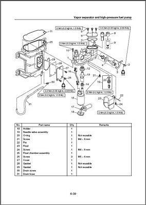 Yamaha F20 Owners Manual