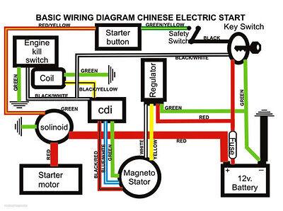 lei quad bike wiring diagram nema l14 30p 50 70 90 110 125cc cdi wire harness stator assembly set atv 3 of 6 electric