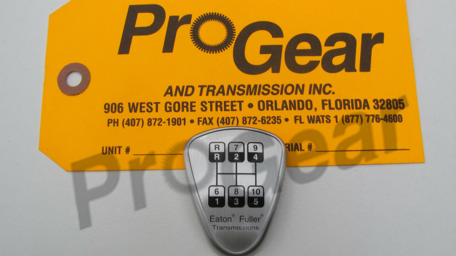 eaton fuller 9 speed transmission diagram pop up camper wiring 10 shift knob medallion