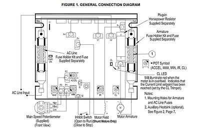 KB ELECTRONICS KBIC-240D DC motor control 9464 upc