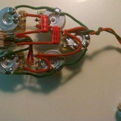 Rickenbacker Guitar Wiring Diagrams How To Make A Diagram In Word 340 370 350sh 3 Pickup 5 Control