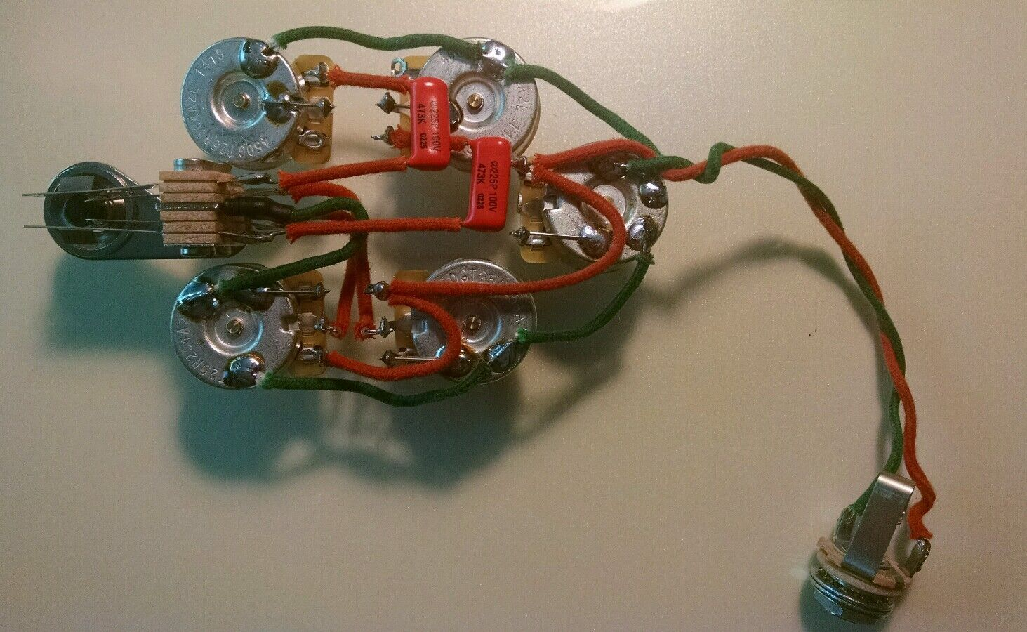 rickenbacker guitar wiring diagrams 2007 ford focus engine diagram 340 370 350sh 3 pickup 5 control