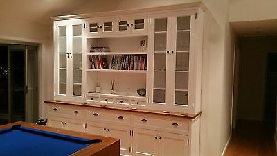 kitchen dresser the game bertram white painted library wall unit bookcase 2 of 4 bookshelf