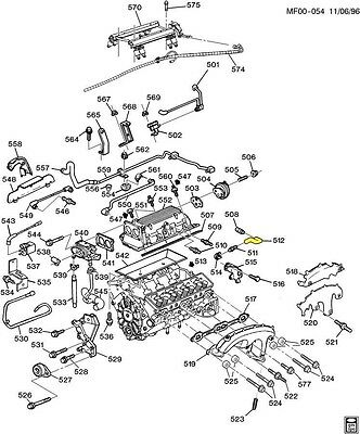 92-95 CORVETTE 93-94 Camaro Firebird LT1 PVC Crank Case