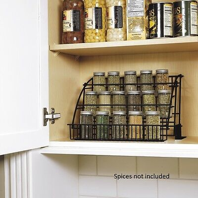 NEW RUBBERMAID Kitchen InCabinet Pulldown SpiceRack