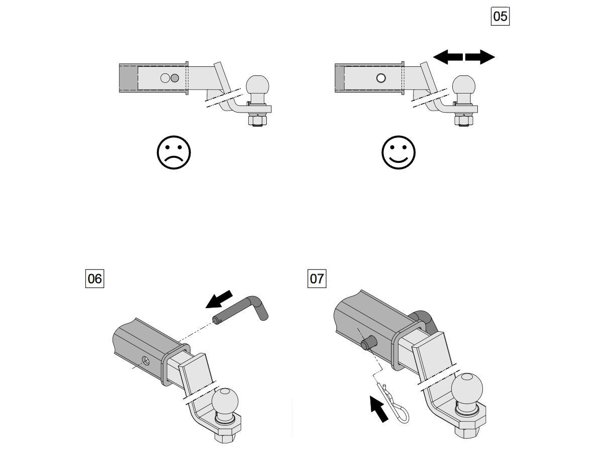 Dodge Charger Ram Anhangerkupplung Adapter Us Fahrzeuge