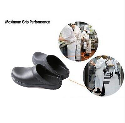 kitchen shoes womens cabinet design tool men women chef in nonslip safety oil water 2 of 3 proof for cook