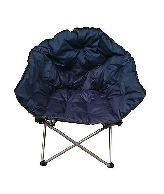 padded camping chair portable folding massage outback club camp most comfortable roomy strong freepost best
