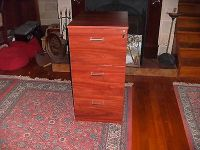 Timber Filing Cabinet 3 Drawer in good condition  AUD 29 ...