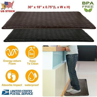 memory foam kitchen rug bench table anti fatigue floor mat 30 x 18 indoor cushion comfort