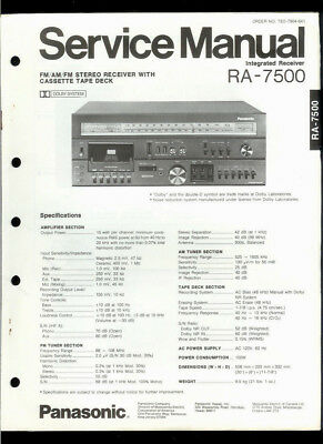 ORIG FACTORY TECHNICS/PANASONIC SA-5570 FM/AM Stereo