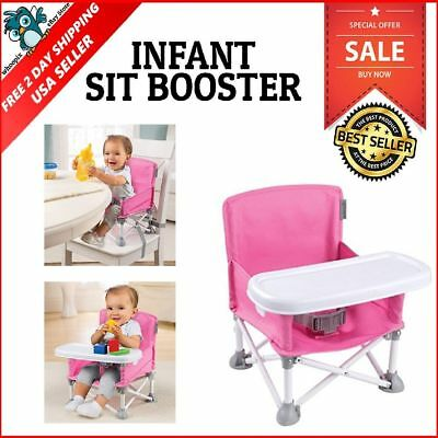 summer infant beach chair hammock with stand pop and sit portable booster baby boy seat n toddler camping high