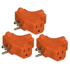 3 Way Outlet Visio Call Flow Diagram Wall Triple Tap Adapter Grounded Electrical Splitter 1 Electric Plug Prongs Ground Af