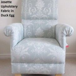 Adult Egg Chair Plush Leather Recliner Chairs Laura Ashley Josette Upholstery Fabric Duck Armchair Nursery New